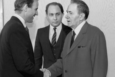 """Joe Biden and Andrey """"Mr Nyet"""" Gromyko"""