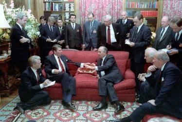 Translating for Presidents Gorbachev and Reagan, Geneva Summit